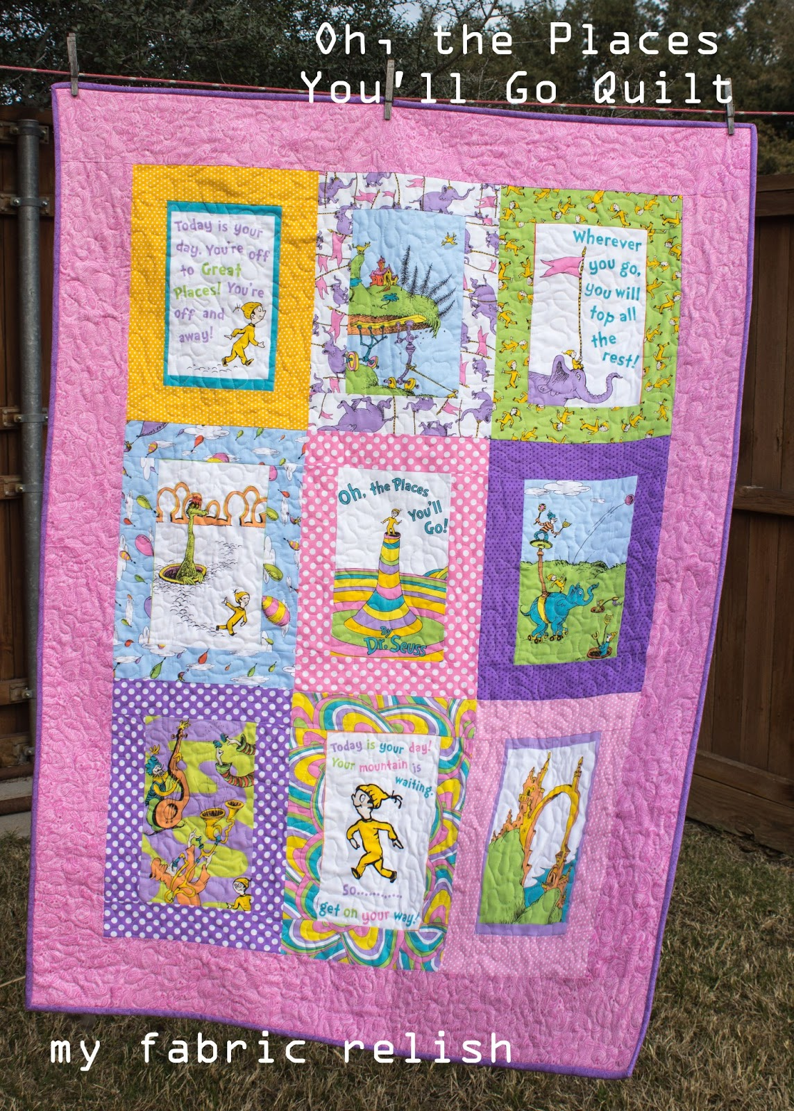 My Fabric Relish Oh The Places Shell Goquilt Tutorial Sort Of