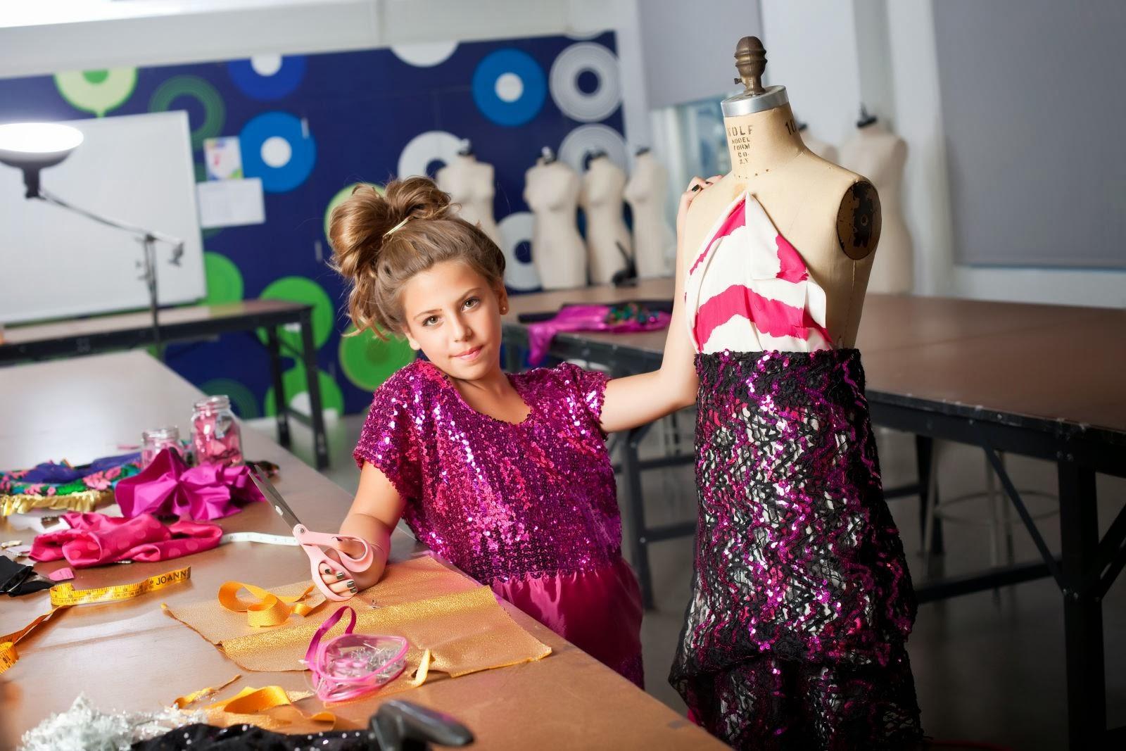 MissAngelWang: Little fashion designer: Cecilia Cassini