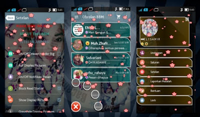 Download BBM Mod Tema Animated With Cange 2.12.0.11 Apk
