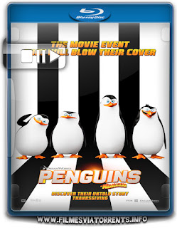 Os Pinguins de Madagascar Torrent - BluRay Rip 1080p Dual Áudio 5.1
