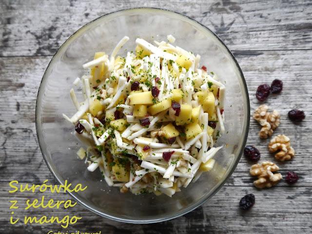 Surówka z selera i mango - dietetyczna - Czytaj więcej »