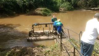 Manutenção compromete abastecimento de água em Riachuelo