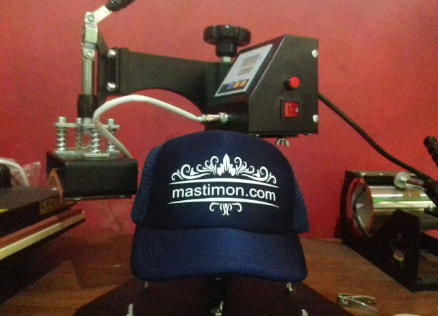 Sablon Topi custom, Free Design, Harga Murah dan bisa Satuan
