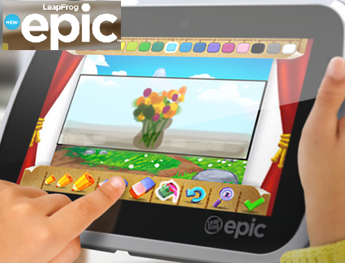 Coupons And Freebies: LeapFrog Epic Tablet Prize Pack Giveaway - 4 ...