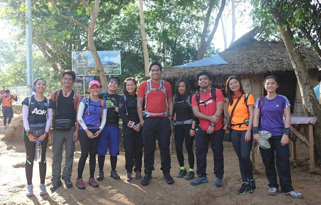 Group shot before we start trekking