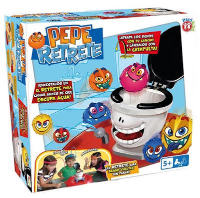 PEPE RETRETE - Juego de Mesa   IMC Toys 2017   JUGUETE caja