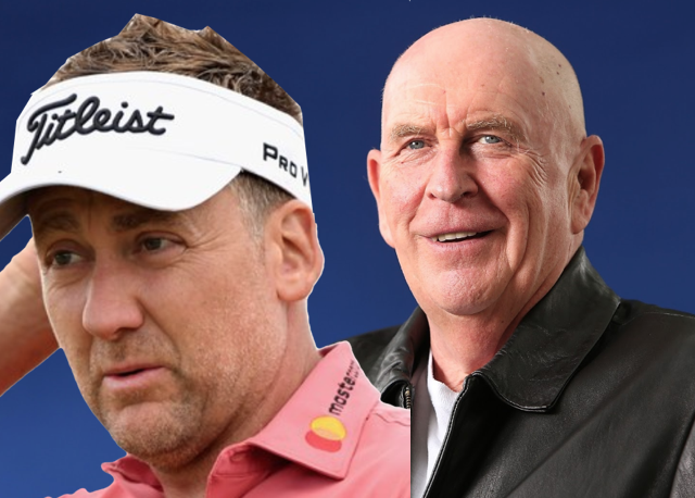 Ian poulter pays dearly for being arsehole to crime for Quintin jardine