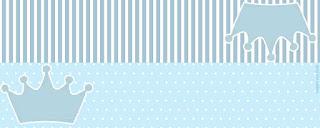 Etiquetas para Imprimir Gratis de Corona Celeste.