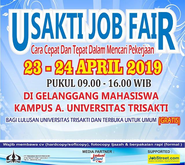 Job Fair di Universitas Trisakti Jakarta (GRATIS)