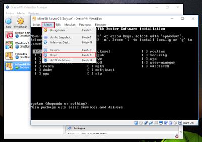 Cara Belajar MikroTik Tanpa Router Dengan Virtual Box