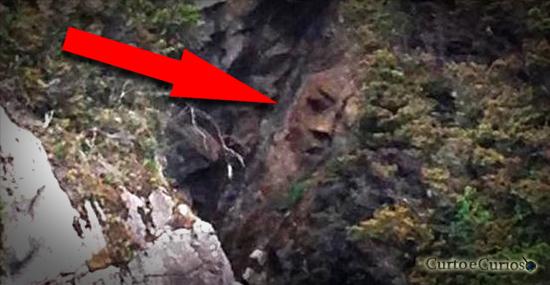 Finalmente descoberto onde fica o misterioso rosto de pedra perdido da Ilha Reeks