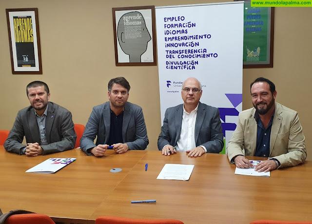 La Fundación General de la Universidad de La Laguna y el Ayuntamiento de Tijarafe firman un convenio para establecer una estrategia de desarrollo socioeconómico del municipio