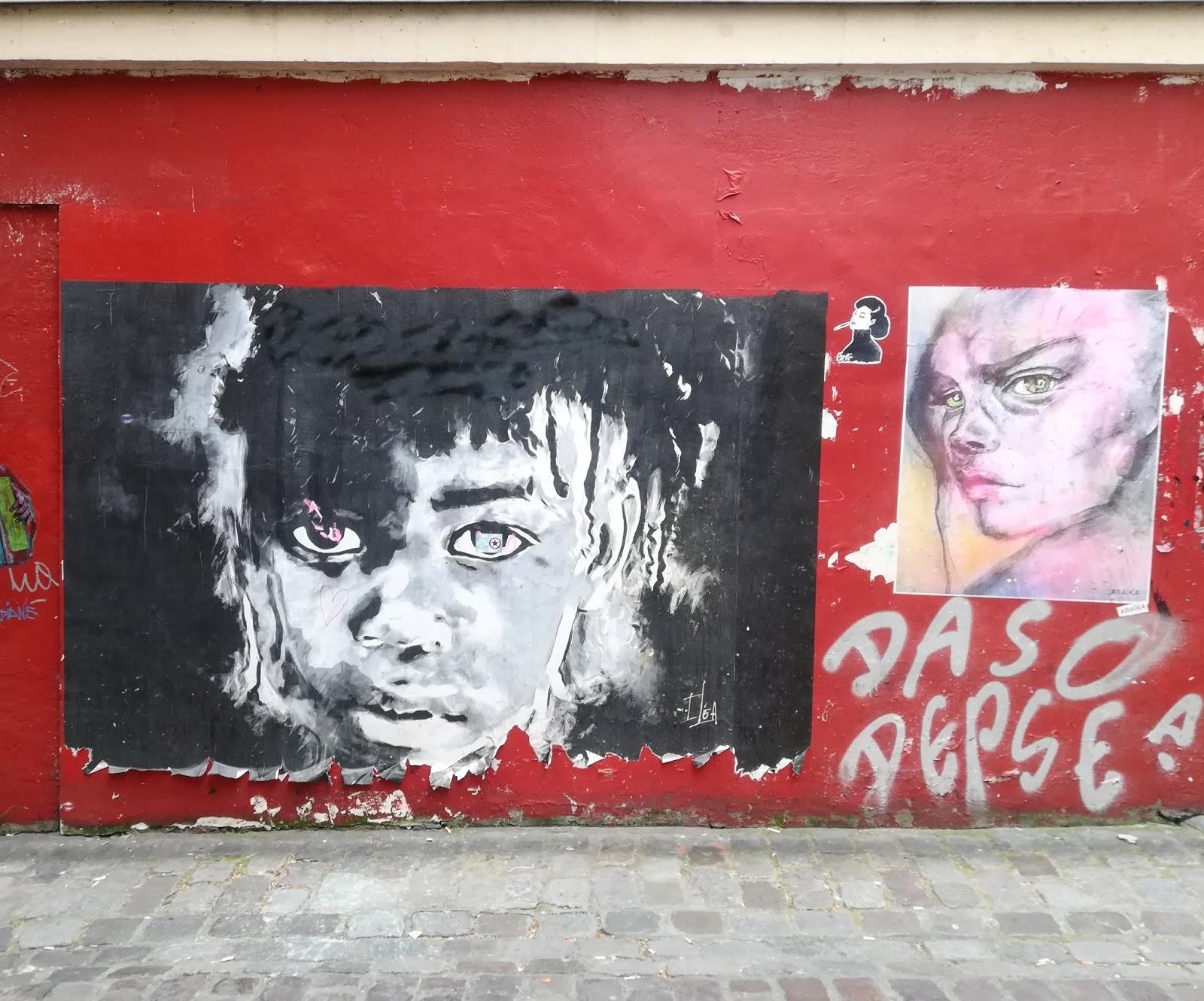 collage de l'artiste iléa