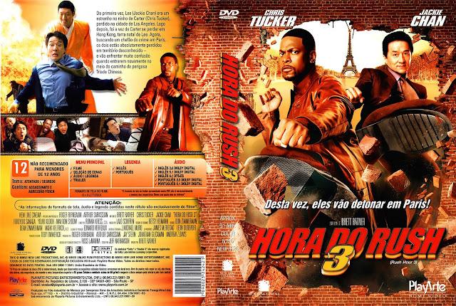 Capa DVD Hora do Rush 3
