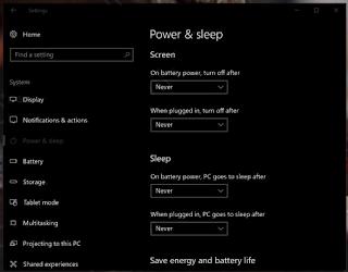 Cara Agar Laptop Tidak Sleep Otomatis