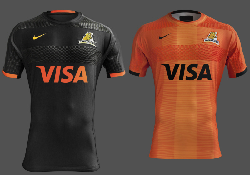 Presentaron las camisetas de Jaguares para el Super Rugby