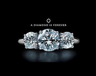 debeers a diamond is forever campaign