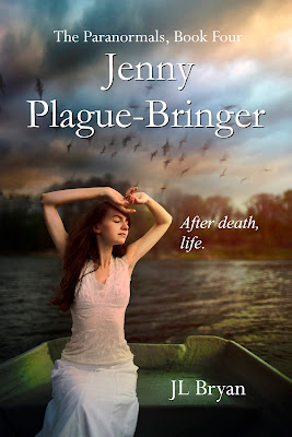Cover Reveal!!! Jenny Plague-Bringer by J.L. Bryan *Giveaway*