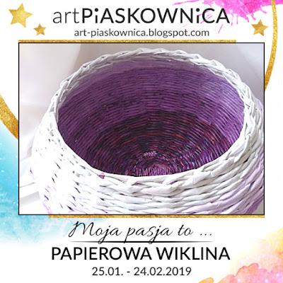 Moja pasja to PAPIEROWA WIKLINA / Anetta (Jamiołowo)
