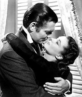 Clark Gable and Vivian Leigh in Gone with the Wind