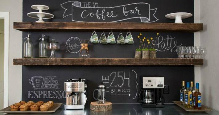 Home Coffee Bar Design Ideas: Como Montar Um Cantinho Do Café?