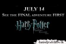 Deathly Hallows part 2 pre-screening Santa Clara, CA winners
