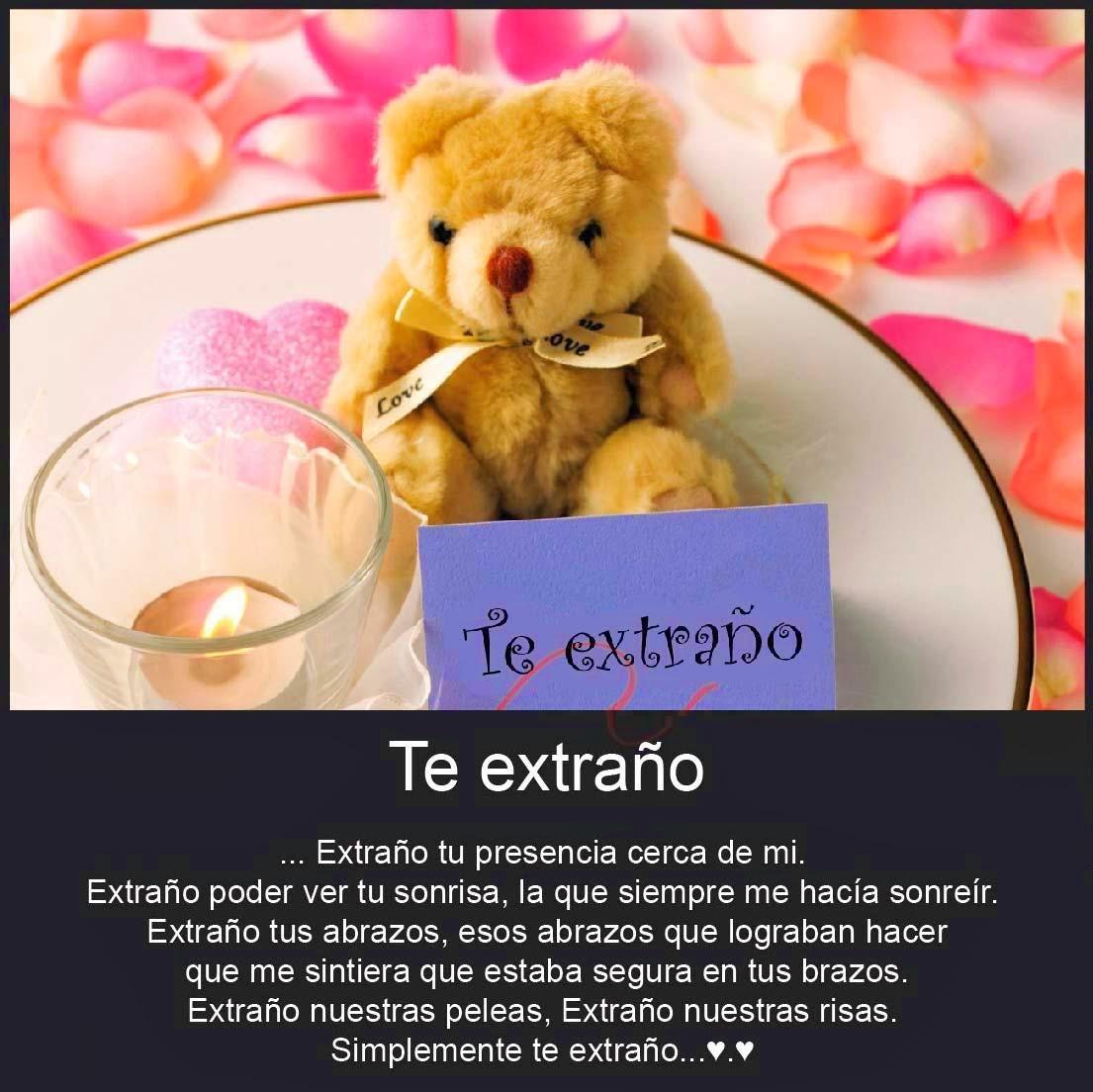 Te Extrano Mucho Mi Amor Imagenes De Amor Bonitas