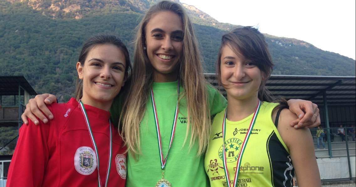 Campionati Regionali cadetti/e, prima giornata: calvesini en plein, 13 titoli su 13!
