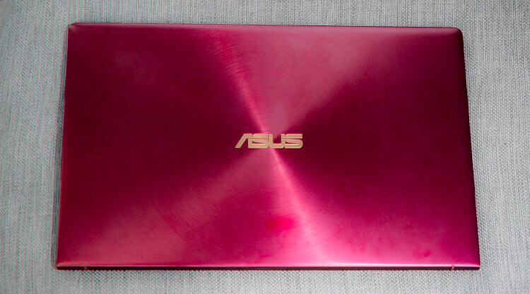 ASUS ZenBook 13 Burgundy Red