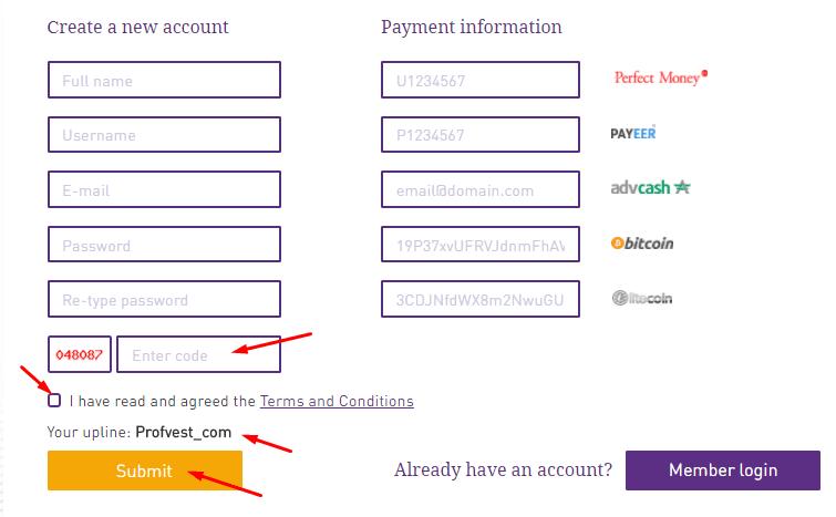 Регистрация в Coin Trade Finance 2