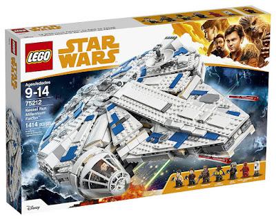 Toys : juguetes - LEGO : Han Solo una historia de Star Wars 75212 Halcón Milenario del corredor de Kessel  Película 2018   Juego de construcción   Piezas: 1414   Edad: 9-14 años  COMPRAR ESTE JUGUETE EN AMAZON ESPAÑA