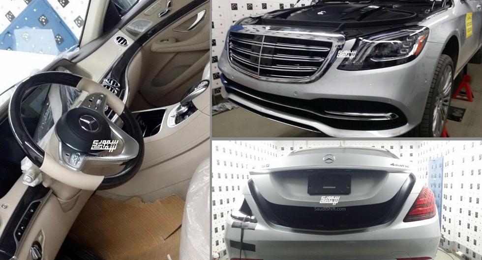 2018 Mercedes Benz S Cl Gets A Facelift