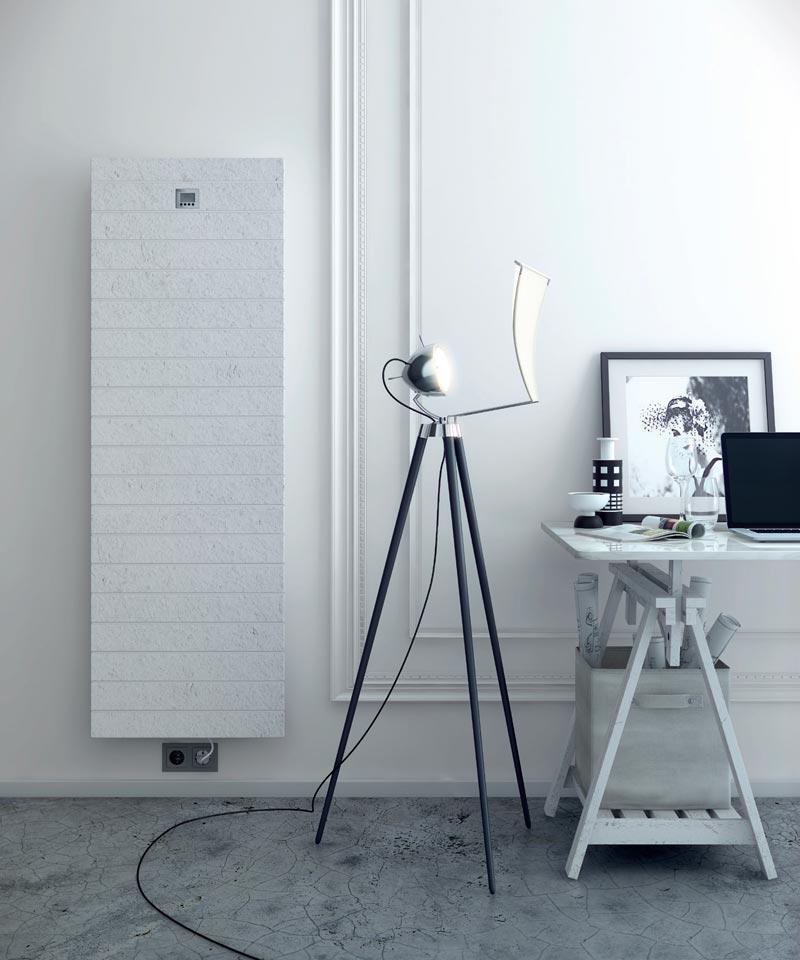 radiatore elettrico Vulcano di Fiora