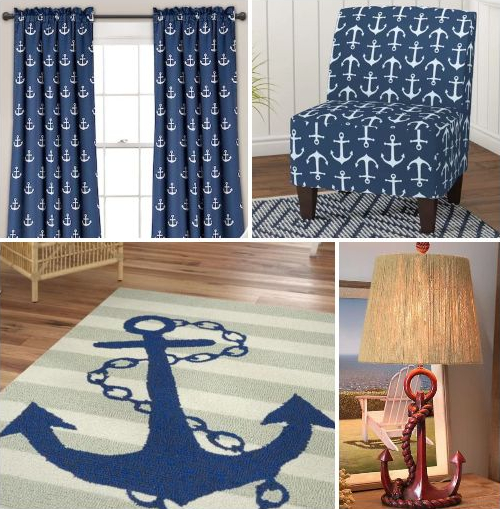 Nautical Anchor Home Decor