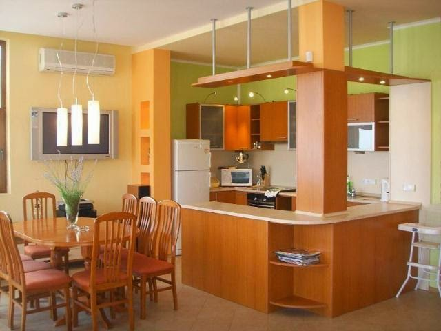 wall paint colors for country kitchen
