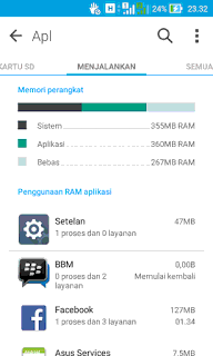 Application Lollipop Asus Zenfone 4