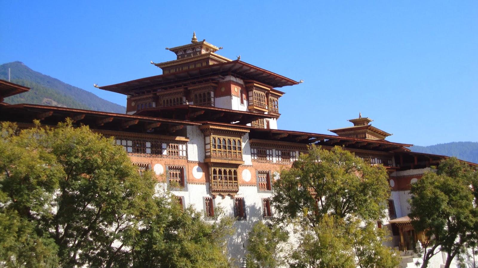 Punakkha Dzong, Bhutan