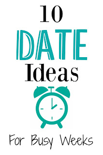Date Night Date Ideas Marriage Busy Week