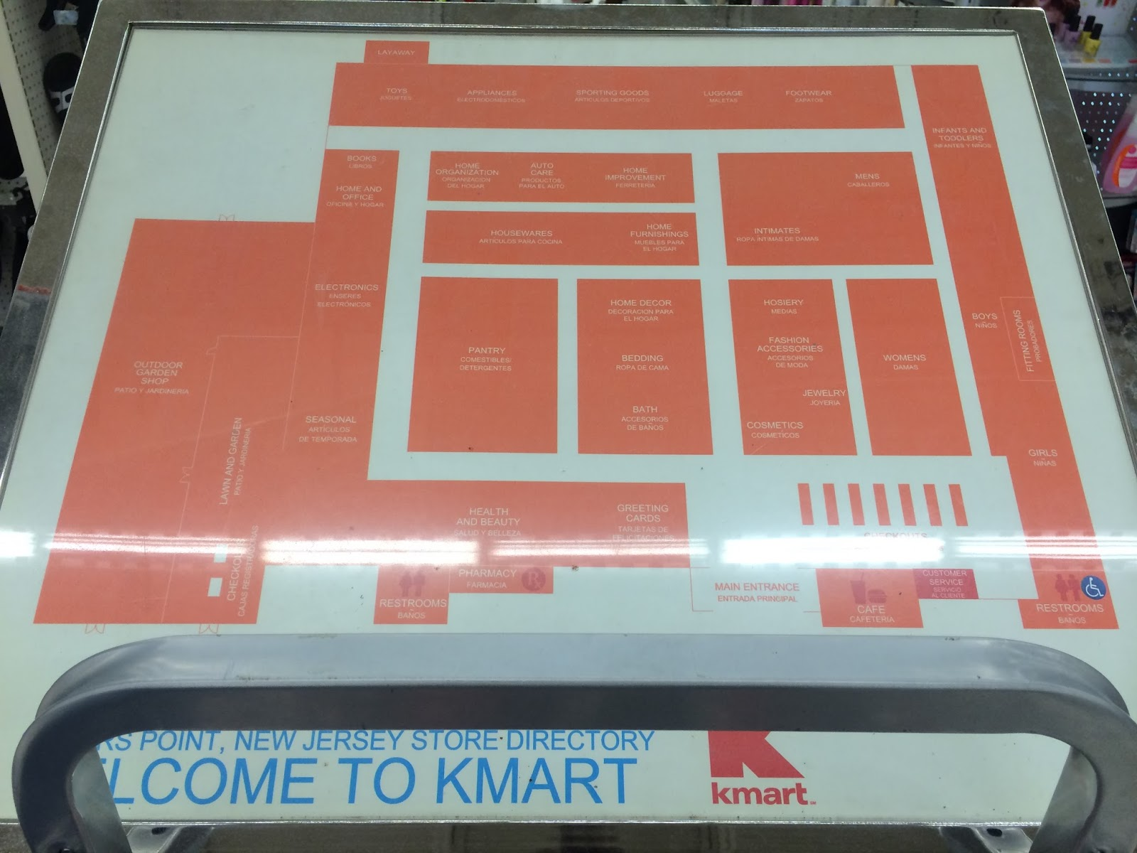 Kmart World Map Dead And Dying Retail The Last Kmart Ever Built