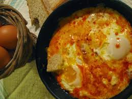 huevos al tuco