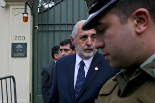 Police and prosecutors raided Roman Catholic Church offices in two Chilean cities