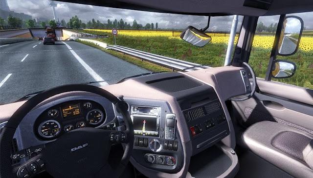 تحميل لعبة قيادة الشاحنات euro truck simulator 2 كاملة للكمبيوتر