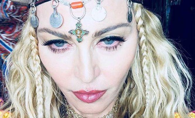 Фото Мадонни висміяли в соцмережі