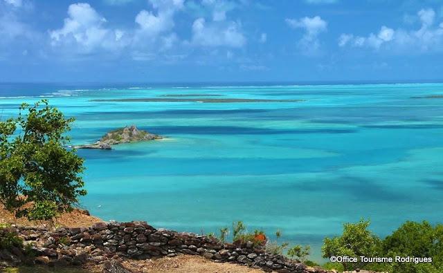 Rodrigues island lagoon