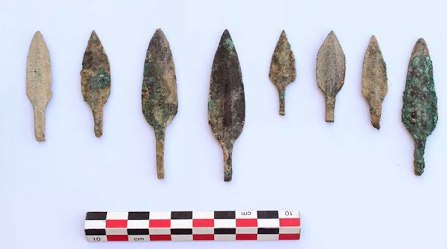 Large haul of Iron Age weapons unearthed in Oman