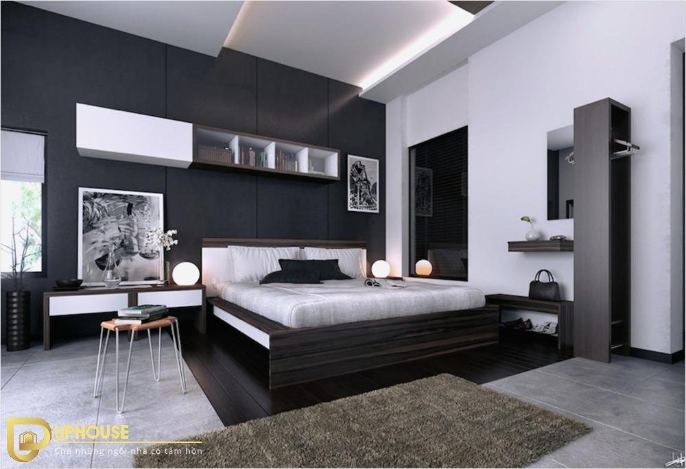 Phòng ngủ màu đen 01