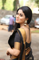 Poorna in Cute Backless Choli Saree Stunning Beauty at Avantika Movie platinum Disc Function ~  Exclusive 018.JPG