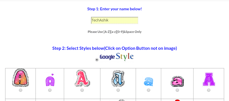 How to replace Google logo with your name