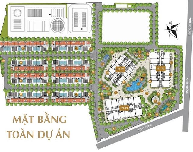 Quy hoạch Chung cư Imperial Plaza 360 Giải Phóng
