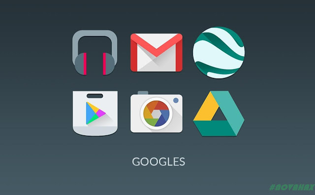 Materialistik icon pack apk free download